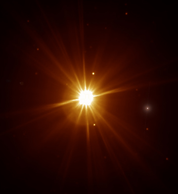 And Scientists Zooming In On A Fuzzy Point Of Light In The Image Will See  Thisu2026 Good Looking