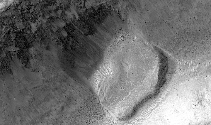 Zoom da avalachance marciana