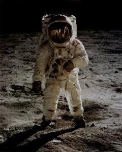 F2102~NASA-Buzz-Aldrin-On-Moon-Spaceshots-Posters