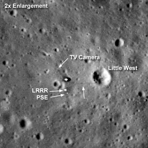 lunar landing sites visible from earth - photo #10
