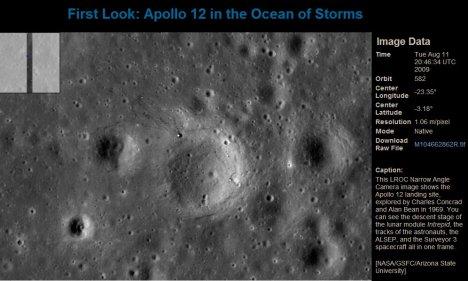 Apollo 12 site