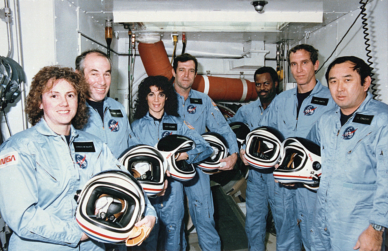 space shuttle challenger crew - photo #1