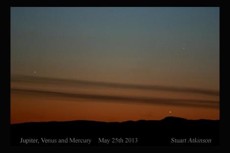 Three planets May 25th 2013 SA