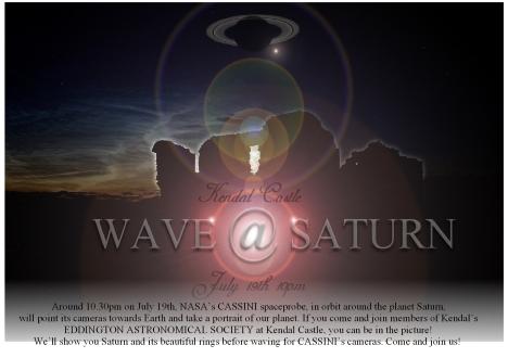 WAVE AT SATURN poster jpg