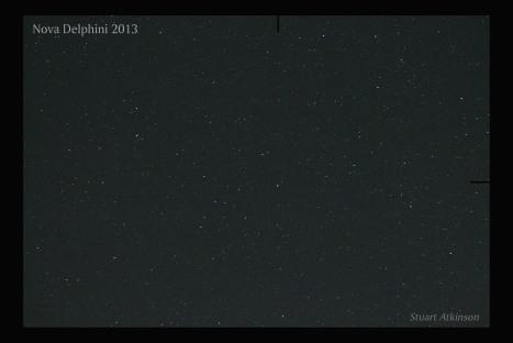 Nova Delphini 2013 labelled