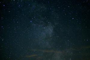 sun night starclouds