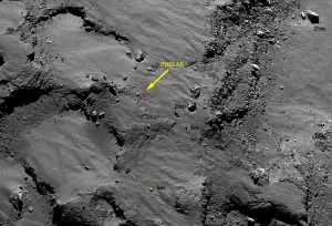 crop philae rocks