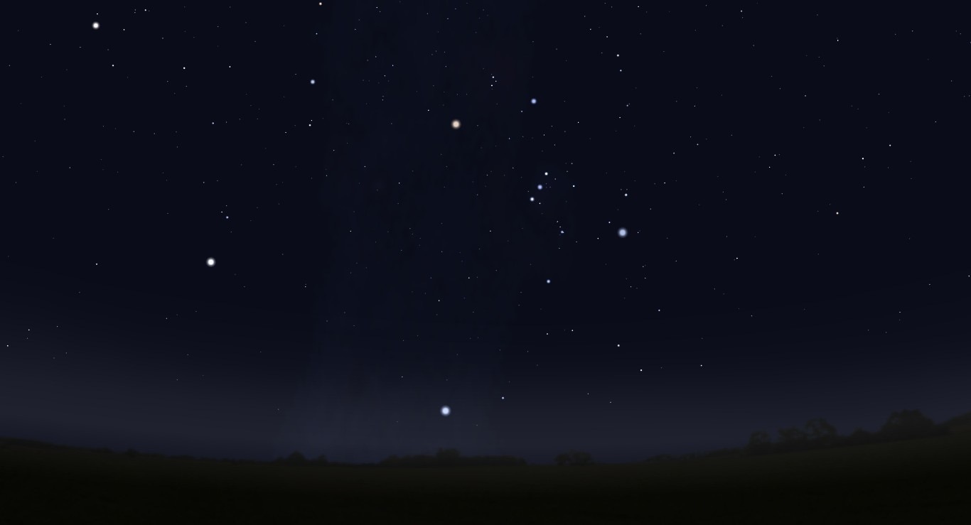 Orion is meant to be a hunter, dominating the winter sky. If you could ...