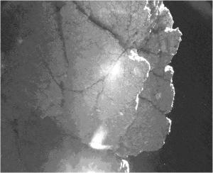 AGU14_CIVA_perihelion-cliff
