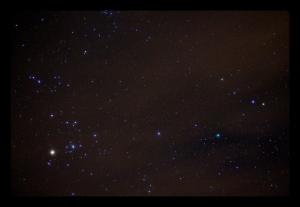 hyades comet f