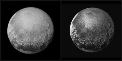 Pluto July 13 collage
