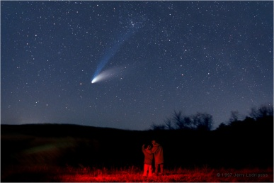 Comet Hale-Bopp C/1995 O1 April 1, 1997 Perihelion © Copyright 1997 by Jerry Lodriguss