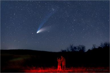 Comet Hale-Bopp C/1995 O1 April 1, 1997 Perihelion © Copyright 1997 by Jerry Lodriguss